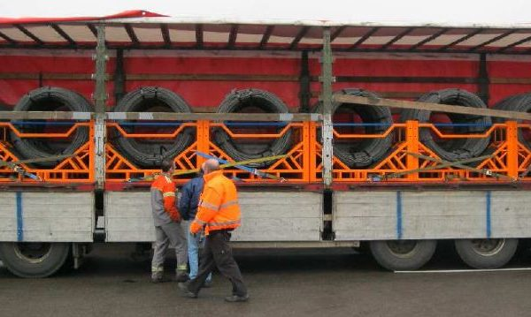 CSS Coil Carrier_ LKW Kundentest