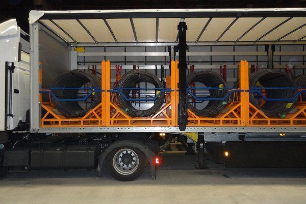 Coil Carrier Truck